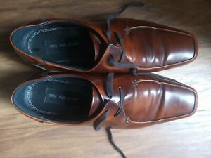 Men's Brown Marks And Spencer's Autograph Dress Shoes Size 11