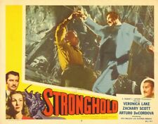 "ZACHARY SCOTT - Original Vintage 11"" x 14"" Lobby Card STRONGHOLD 1951 C#69"