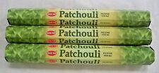 Lot 60 Incense Sticks Hem Patchouli 3 x 20 Stick Box