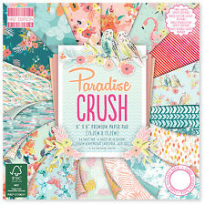 First Edition PARADISE CRUSH 6x6 Full Paper Pad - 64 sheets (Trimcraft) Tropical