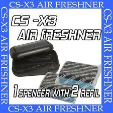 AIR SPENCER CS-X3 AIR FRESHENER FOR CAR -SQUASH (1 SPENCER + 2 REFILLS)