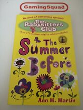 The Babysitters Club, The Summer Before, A Martin Book, Supplied by Gaming Squad