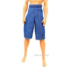 Ken Fashion Loose Fit Denim Shorts Shavin Fun Ken New NO DOLL