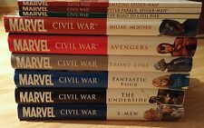 MARVEL CIVIL WAR COMPLETE COLLECTION - HC Hardcover TPB Omnibus - Spider-Man LOT