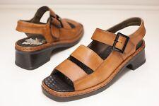 Rieker Size 8.5 - 9 Brown Sandals Women's EU 40