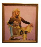 "Stunning Framed Oil  Painting ""Bacia"" by Linda Kolar 2005 -2008"