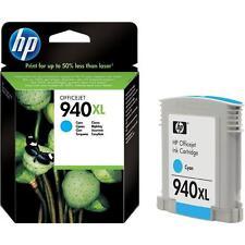 Original HP Hewlett Packard 940XL Tintenpatrone »C4907AE« cyan