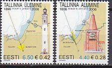 ESTONIA 2006**MNH SC# 541-542 Lighthouses 2006