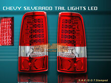 1999-2002 CHEVY SILVERADO /GMC SIERRA LED TAIL LIGHTS 1500/2500