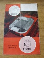20/01/1965 Manchester United v Everton [entre ciudades ferias Taza] (pieza cortada F