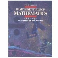 Basic Essentials of Mathematics: Whole Numbers, Fractions & Decimals, Book 1 [ J