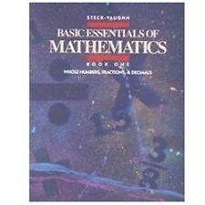 Basic Essentials of Mathematics, Book 1 (Basic Essen of Math)-ExLibrary