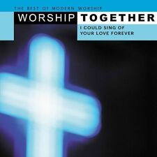 Worship Tracks - I Could Sing of Your Love Forever by Karaoke (CD, Jan-2003, 2 D