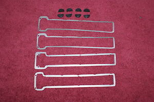 MASERATI INDY MEXICO QUATTROPORTE VALVE COVER GASKETS AND RUBBER SEAL HALF MOONS