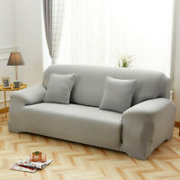 Stretch Chair Sofa Cover 1 2 3 4 Seater Couch Elastic Slipcover Protector Cover