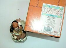 New Friends of the Feather Rhythm of Life Angel with Rattles Figurine