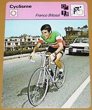 CYCLISME CICLISMO FRANCO BITOSSI TOUR FRANCE GIRO ITALIA LOMBARDIE