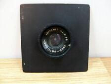 Beseler  23C/45M enlarger lens board with 75mm Isco-Gottingen lens . Read.