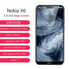 Nokia X6.1  6gb RAM 64gb ROM 5.8 inch FHD octa core 16+5 MP camera Offer!!