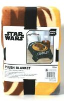 Jay Franco & Sons Disney Star Wars Chewie Is My Co-Pilot Polyester Plush Blanket