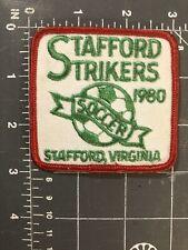 Vintage Stafford Strikers Soccer 1980 Patch Virginia VA Football FC SC Club Ball