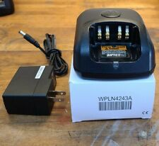 Motorola Wpln4243A Single Station Battery Charger& Ac Power Adapter
