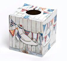 Seagull Tissue Box Cover wooden handmade