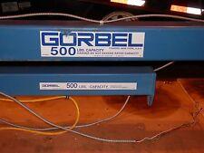 Articulating Jib Crane Gorbel 500lb Capacity Span 10 Ftcolumn Option