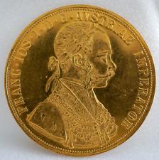 FRANC.IOS.I.D.G.AVSTRIAE IMPERRATOR 13.9 GR 1915 Gold Coin