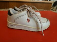 Toddler boys U.S. POLO ASSN.Leather Sneakers Walking Shoes Sz 10