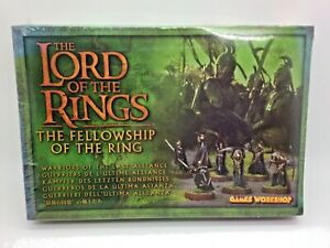 The Lord of the Rings Games Workshop Warriors of the Last Alliance Sealed OOP