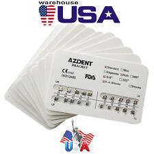 100x Dental Brackets Standard Roth .018 Hooks 3-4-5 AZDENT