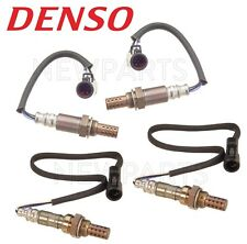 NEW For Ford Lincoln Set of 2x Upstream & 2x Downstream Oxygen Sensors Denso