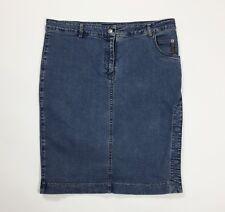 Armani jeans mini gonna a tubo tubino usato W30 tg 44 minigonna skirt T4580
