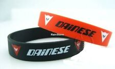 Dainese Wrist Band NEW Baller Band Silicone Rubber Red Balck Wristband Motor