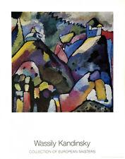 Wassily Kandinsky - Improvisation, 9 Art Print 1988 Abstract Poster 27.5x35.5