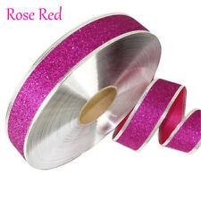 2M Christmas Ribbons Glitter Ribbons Holiday Decor Xmas Gift Wrapping Gold Hot