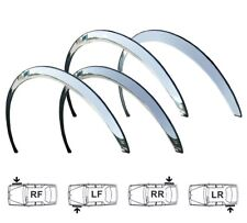 VW Passat B6 Custom Wing Wheel Arch Trim NEW Set Front Rear 4 pcs. Chrome '05-10