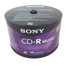 500 SONY Blank Music CD-R CDR Branded 80min Digital Audio Media Disc EXPEDITED