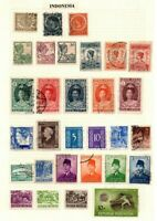Stamps Netherlands Indies / Indonesia
