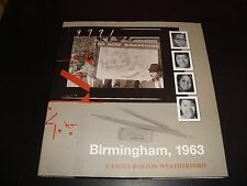 Birmingham 1963 Carole Boston Weatherford 2007 Hardcover Book Racism Martin King