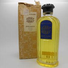 vintage Jean Patou Amour Amour Parfum-Cologne 200ml rare!