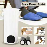 Sock Aid Helper Easy On & Off Stocking Slider Pulling Assist Device for Elderly
