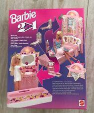 Barbie 2 in 1 Bed and Bath # 11423 Vintage Mattel 1993 NRFB New Sealed