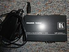 KRAMER 1:2 Computer Graphics Video Line & Distribution Amplifier VP-200XLN W/ PS