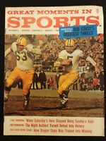 GREAT MOMENTS IN SPORTS MAGAZINE  Jan 1962 (VINTAGE)   M1346