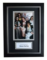 Steve Harley Signed A4 FRAMED Autograph Photo Display Cockney Rebel Music COA