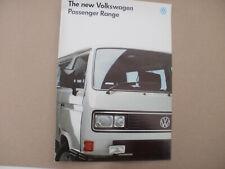 VW Passenger. Carat-Caravelle-Bus brochure uncirculated collectors condition.