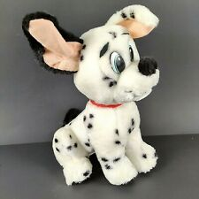 "Black and White Dalmatian Puppy Dog Plush 9"" Stuffed Animal Carnival Ace Novelty"