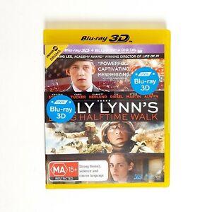 Billy Lynns Long Halftime Walk Movie 3D Bluray Movie Free Post Blu-ray